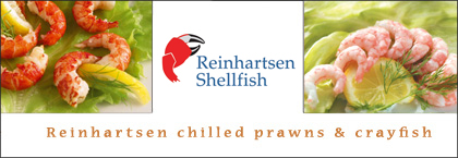 Reinhartsen chilled prawns and crayfish